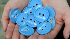 Modrý gombík