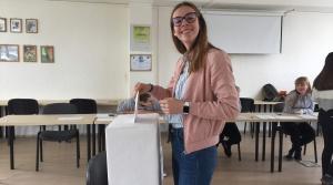 Študentské voľby prezidenta