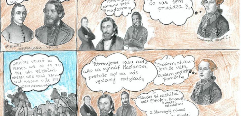 Dejepisný komiks Štúrovci